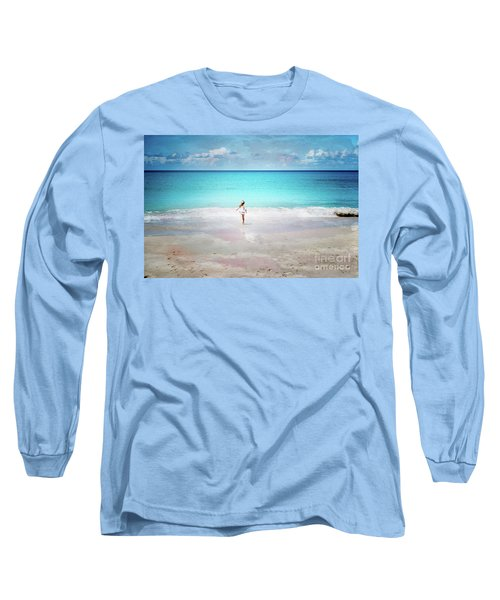 Running To The Sea Long Sleeve T-Shirt