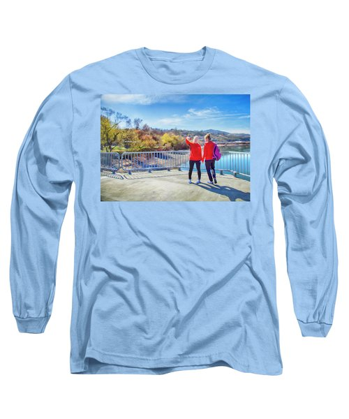 Long Sleeve T-Shirt featuring the photograph Russian Selfie by Theresa Tahara