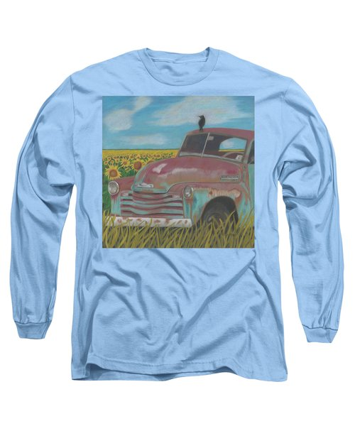 Rust And Gold Long Sleeve T-Shirt
