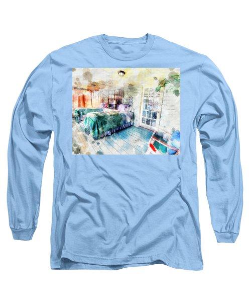 Rustic Look Bedroom Long Sleeve T-Shirt