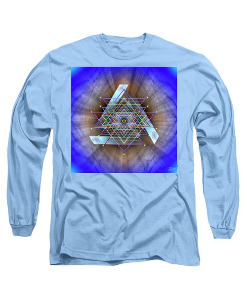 Sacred Geometry 717 Long Sleeve T-Shirt