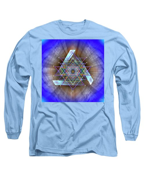 Sacred Geometry 717 Long Sleeve T-Shirt