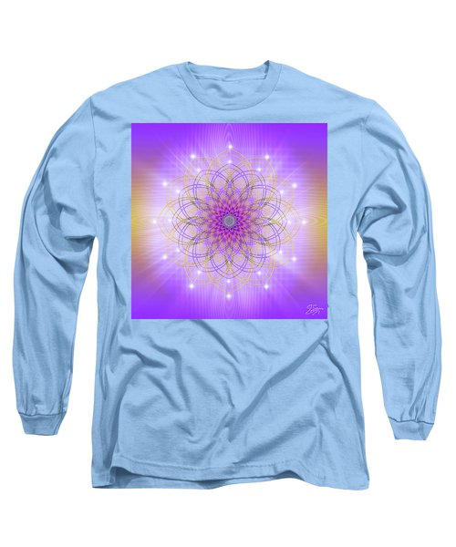 Sacred Geometry 721 Long Sleeve T-Shirt