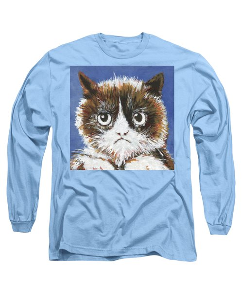 Sad Cat Long Sleeve T-Shirt