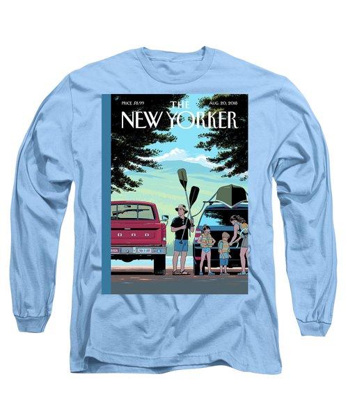 Safe Travels Long Sleeve T-Shirt