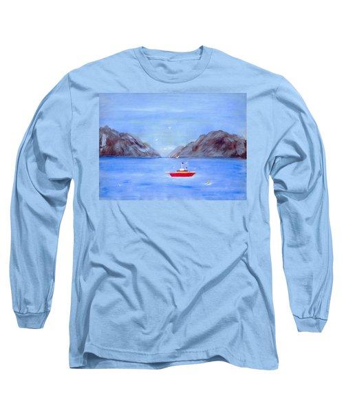 Sailing Away Long Sleeve T-Shirt