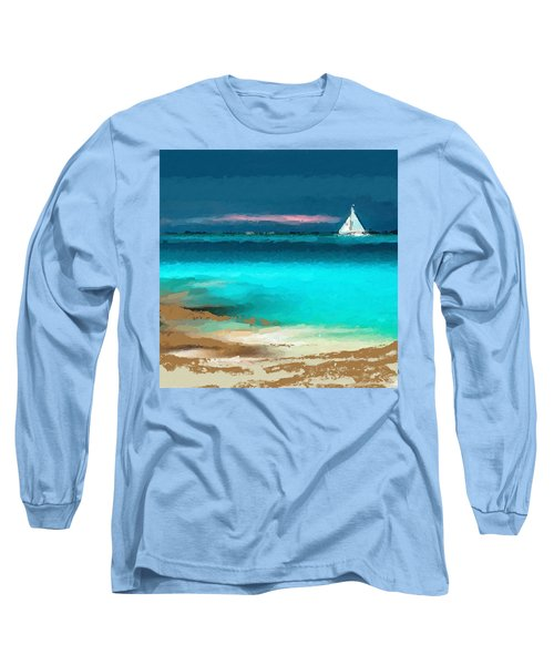 Sailing Just Offshore Long Sleeve T-Shirt