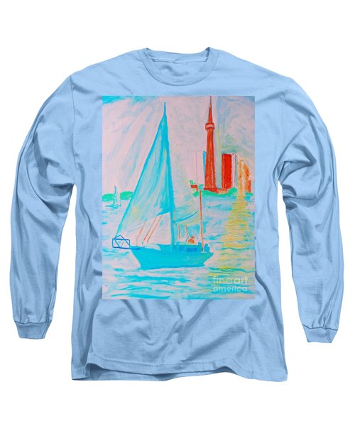 Sailing Toronto, Canada Long Sleeve T-Shirt