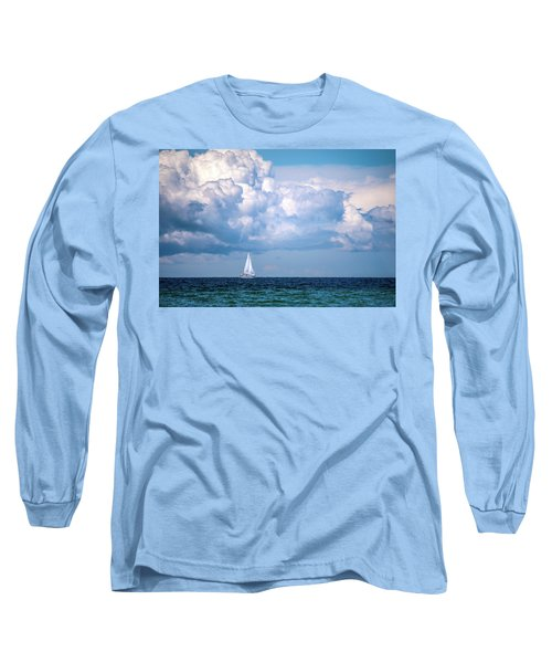 Sailing Under The Clouds Long Sleeve T-Shirt