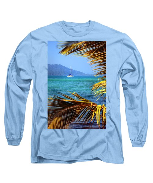 Long Sleeve T-Shirt featuring the photograph Sailing Vacation by Alexey Stiop