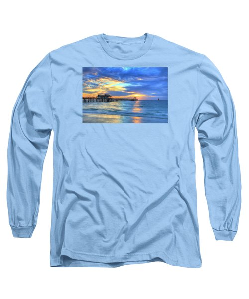 Long Sleeve T-Shirt featuring the digital art Sailor's Delight by Sharon Batdorf