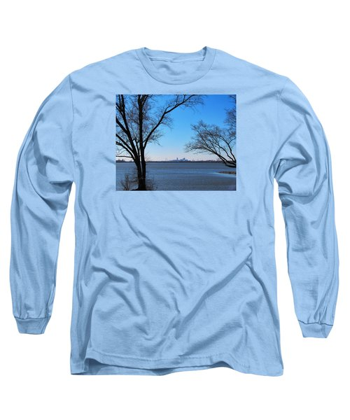 Long Sleeve T-Shirt featuring the photograph Saint Louis Blues by John Freidenberg