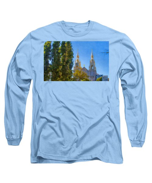 Saints Peter And Paul Church Long Sleeve T-Shirt