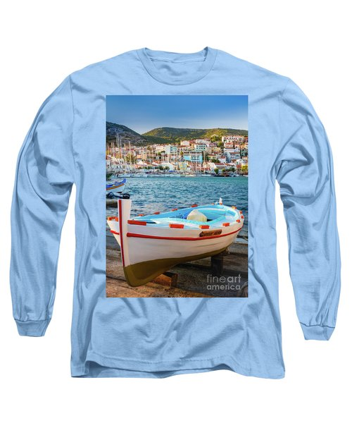 Samos Boat Long Sleeve T-Shirt