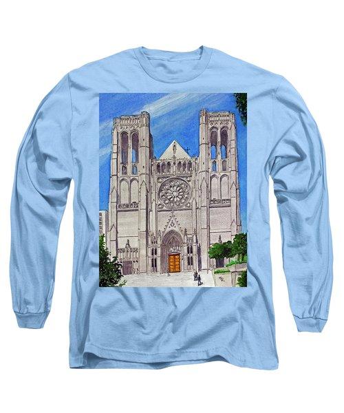 San Francisco's Grace Cathedral Long Sleeve T-Shirt