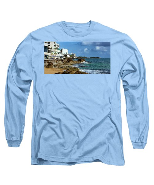San Juan Bay In Puerto Rico Long Sleeve T-Shirt