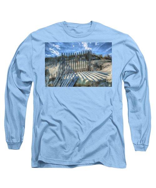 Sand Fence Long Sleeve T-Shirt