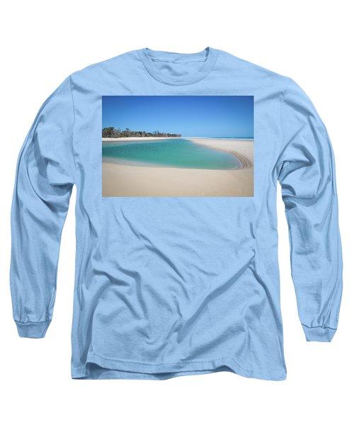 Sand Island Paradise Long Sleeve T-Shirt