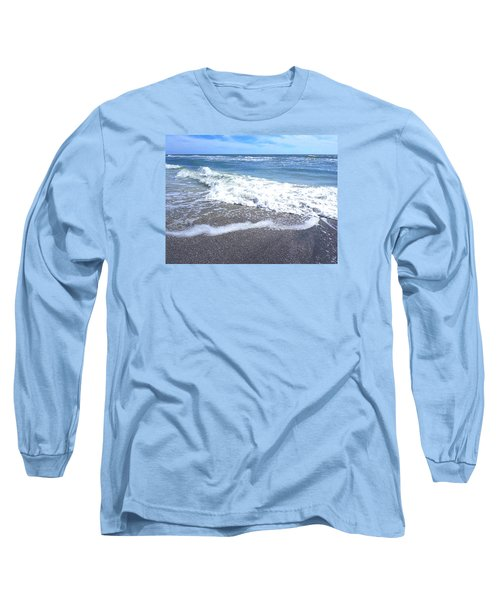 Long Sleeve T-Shirt featuring the photograph Sand, Sea, Sun No. 1 by Ginny Schmidt