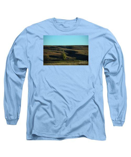 Long Sleeve T-Shirt featuring the photograph Sandhills Hills by Mark McReynolds