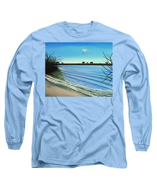 Sandy Beach Long Sleeve T-Shirt