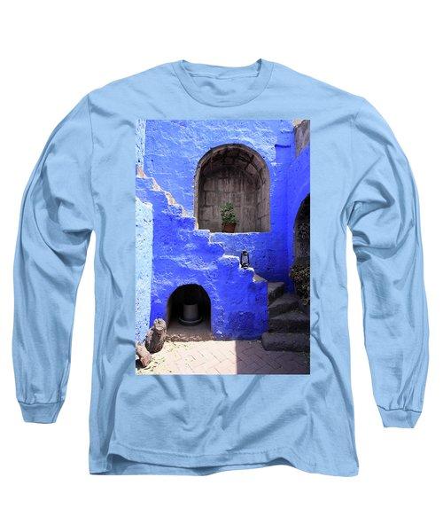 Santa Catalina Monastery, Arequipa, Peru Long Sleeve T-Shirt by Aidan Moran