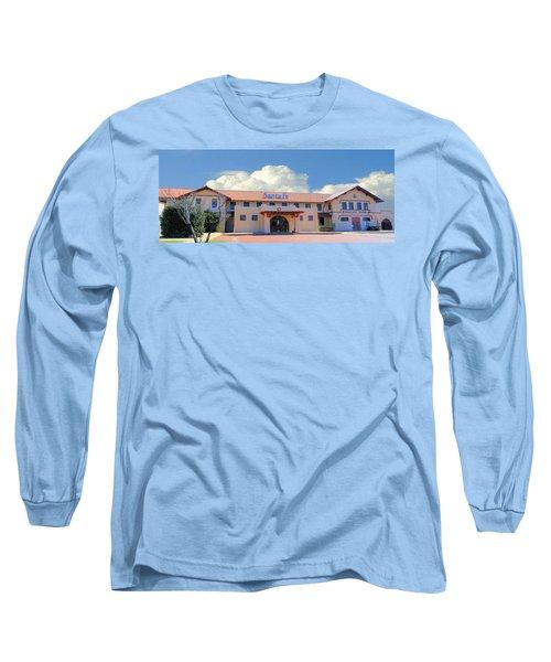 Santa Fe Depot In Amarillo Texas Long Sleeve T-Shirt