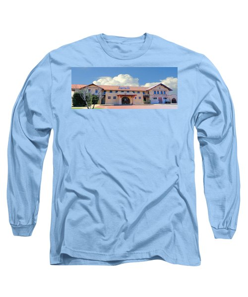Santa Fe Depot In Amarillo Texas Long Sleeve T-Shirt