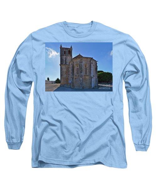 Santa Maria Do Carmo Church In Lourinha. Portugal Long Sleeve T-Shirt