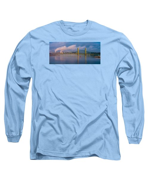 Sarah Long Bridge At Dawn Long Sleeve T-Shirt