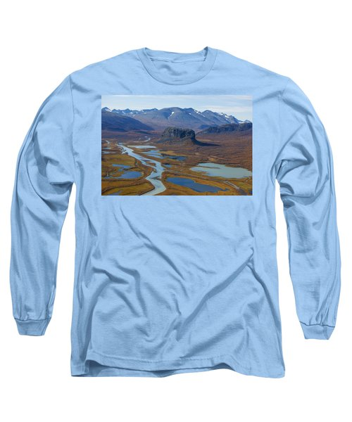 Sarek Nationalpark Long Sleeve T-Shirt