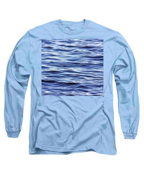 Scanning For Dolphins Long Sleeve T-Shirt