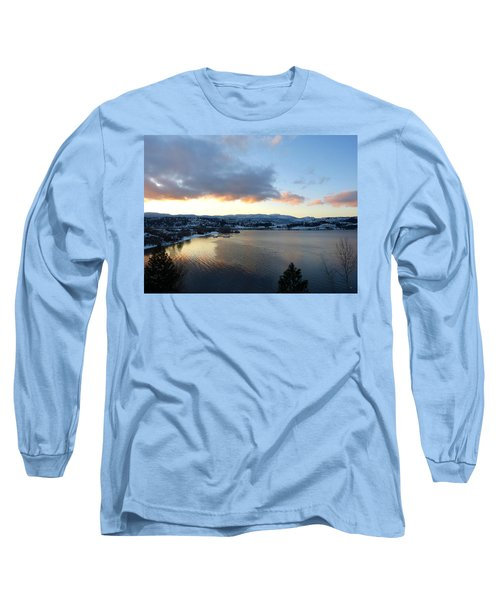 Long Sleeve T-Shirt featuring the photograph Scenic Lake Country by Will Borden