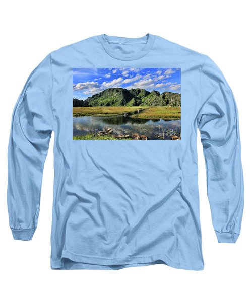 Scenic Route  Long Sleeve T-Shirt by Chuck Kuhn