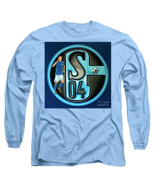 Schalke 04 Gelsenkirchen Painting Long Sleeve T-Shirt