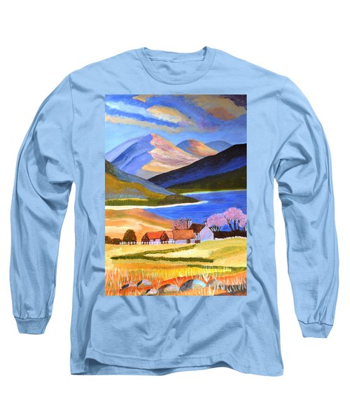 Scottish Highlands 2 Long Sleeve T-Shirt by Magdalena Frohnsdorff
