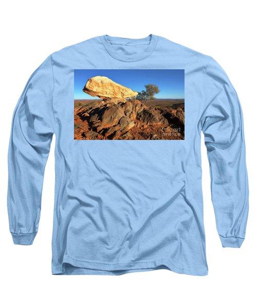 Long Sleeve T-Shirt featuring the photograph Sculpture Park Broken Hill by Bill Robinson