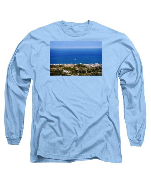 Sea Long Sleeve T-Shirt by Bernd Hau