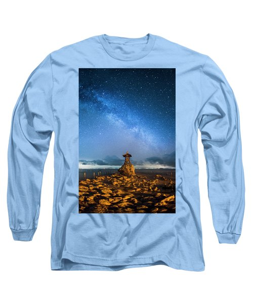 Sea Goddess Statue, Bali Long Sleeve T-Shirt