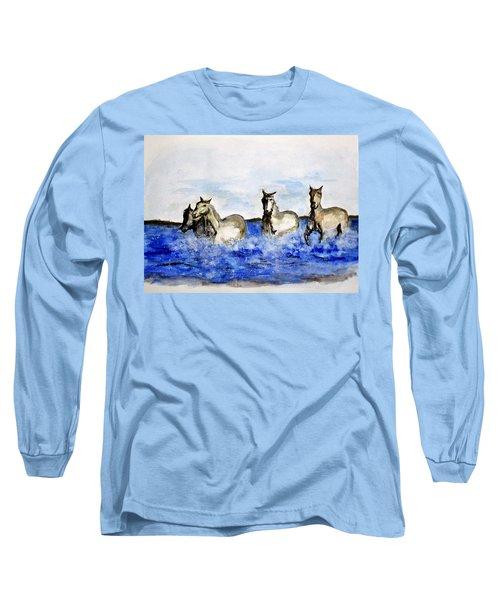 Sea Horses Long Sleeve T-Shirt
