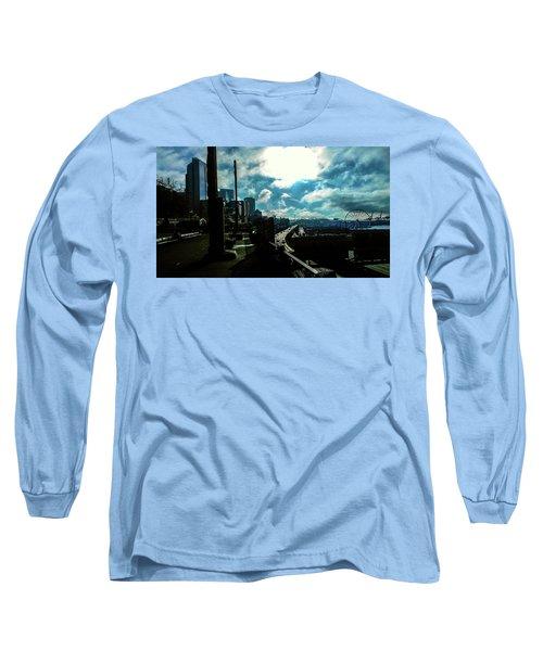 Sea Side, Seattle  Long Sleeve T-Shirt