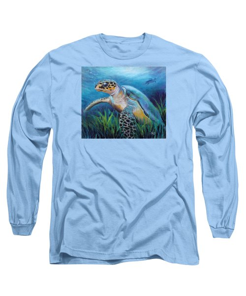 Sea Turtle Cove Long Sleeve T-Shirt