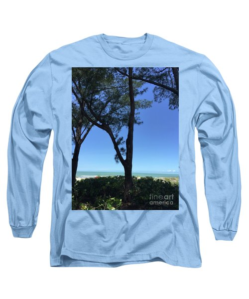 Seagrapes And Pines Long Sleeve T-Shirt by Megan Cohen