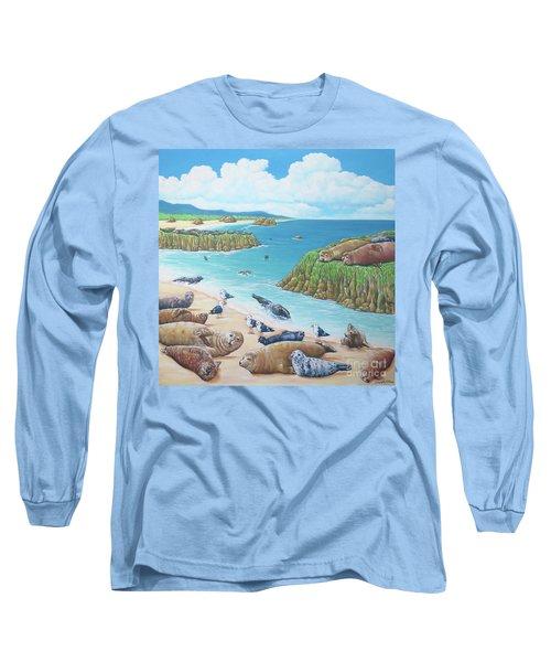 Seal Sanctuary  Long Sleeve T-Shirt