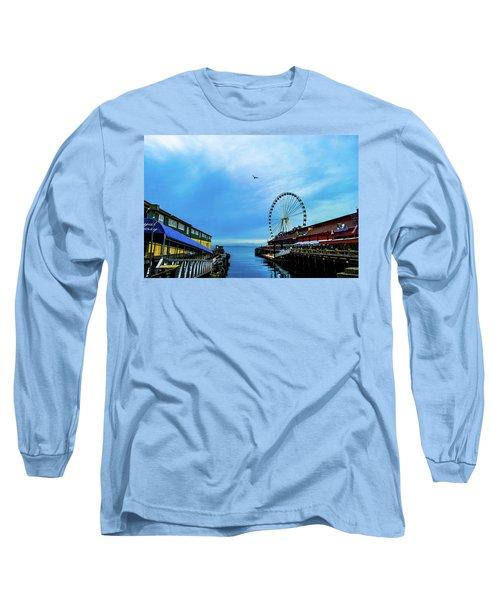 Seattle Pier 57 Long Sleeve T-Shirt