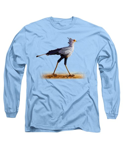 Secretary Bird Long Sleeve T-Shirt