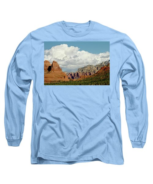 Long Sleeve T-Shirt featuring the photograph Sedona Arizona by Bill Gallagher