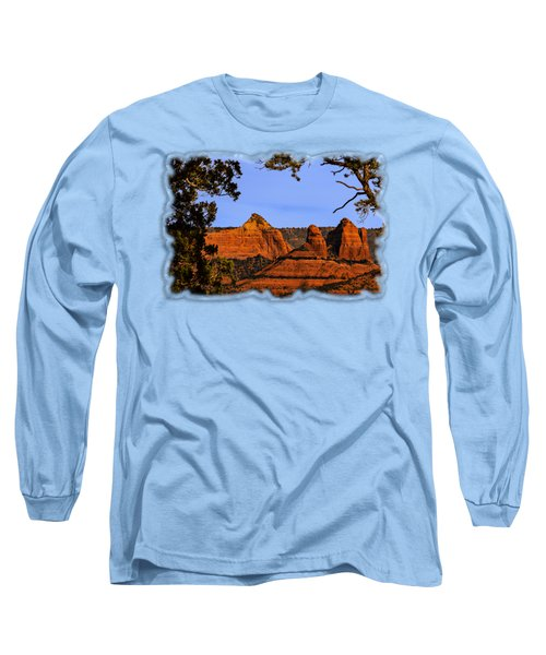 Sedona Red Rocks Long Sleeve T-Shirt
