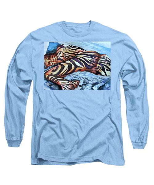 Seduction Of Stripes Long Sleeve T-Shirt