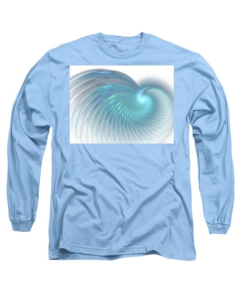 Seeking Peace Long Sleeve T-Shirt by Donna Walsh